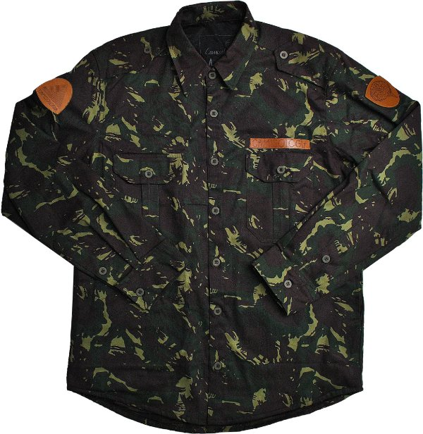 Jaqueta Militar Camuflada