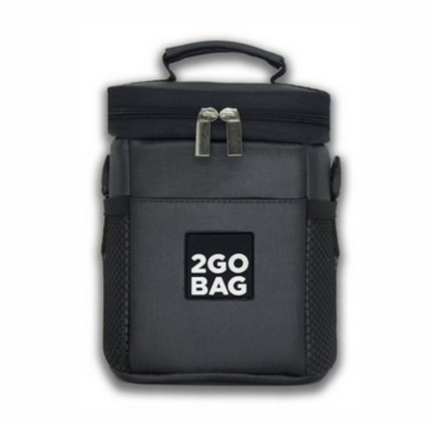 Bolsa Térmica 2Go Bag Sport KIDS Chumbo para 2,7 litros