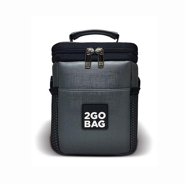 Bolsa Térmica 2Go Bag Sport KIDS Grafite para 2,7 litros