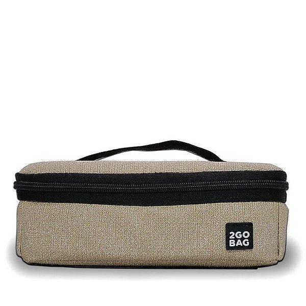 Bentô Térmico 2Go Bag Fendi em Nylon com Pote 1000ml