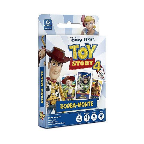 Jogo de Cartas Toy Story 4 Rouba Monte Copag