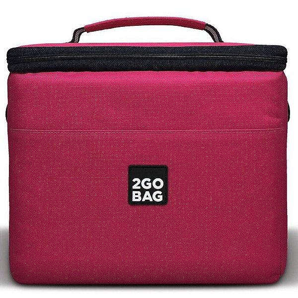 Bolsa Térmica 2goBag 4All Fun PRO 4 a 8 Refeições e Acessórios | Pink