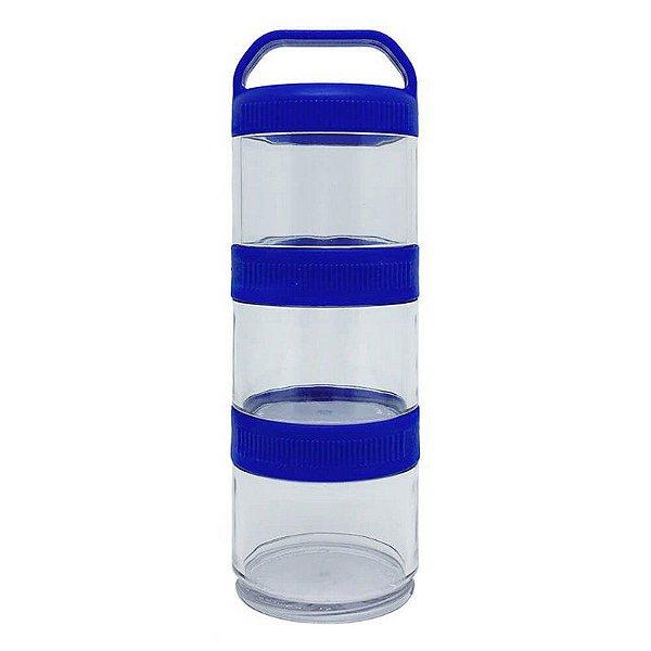 Porta Suplementos 2goPot Multiuso | Blue