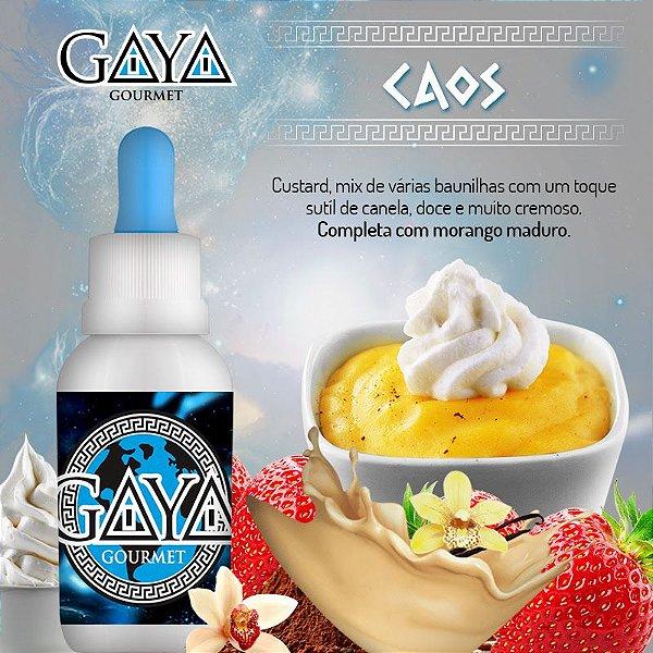 Liquido GAYA Gourmet Caos (Baunilha)