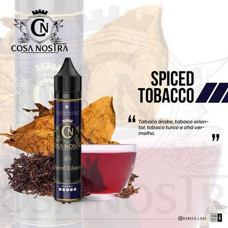 Líquido Spiced Tobacco | Cosa Nostra