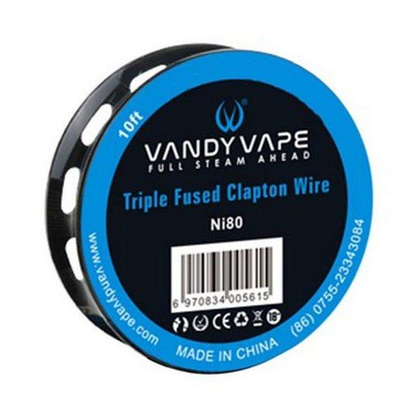 Fio Triple Fused Clapton Wire | Vandy Vape