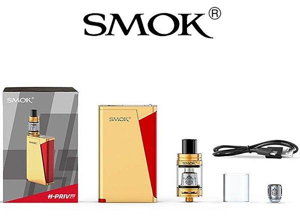 Kit H PRIV Pro TC 220 W | Atomizador TFV8 Big Baby | - Smok