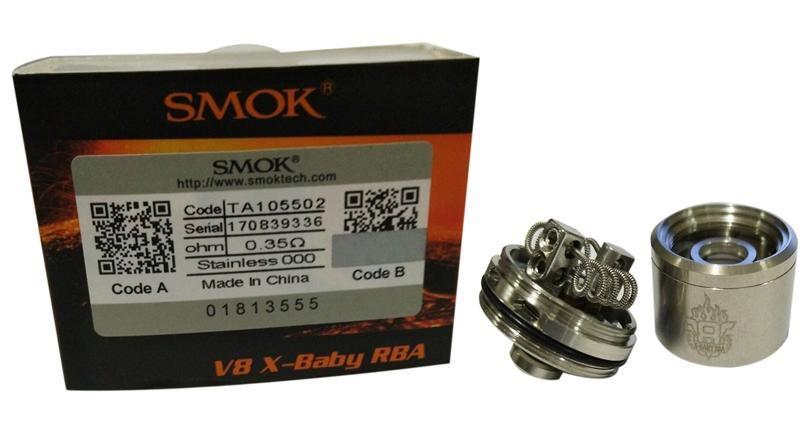 Base RBA V8 X | TFV8 X-Baby | SMOK