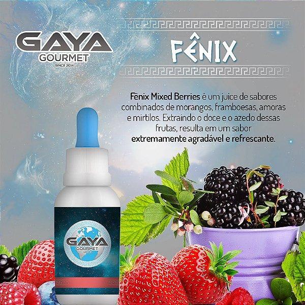 Líquido GAYA Gourmet Fênix (Berry Mix)