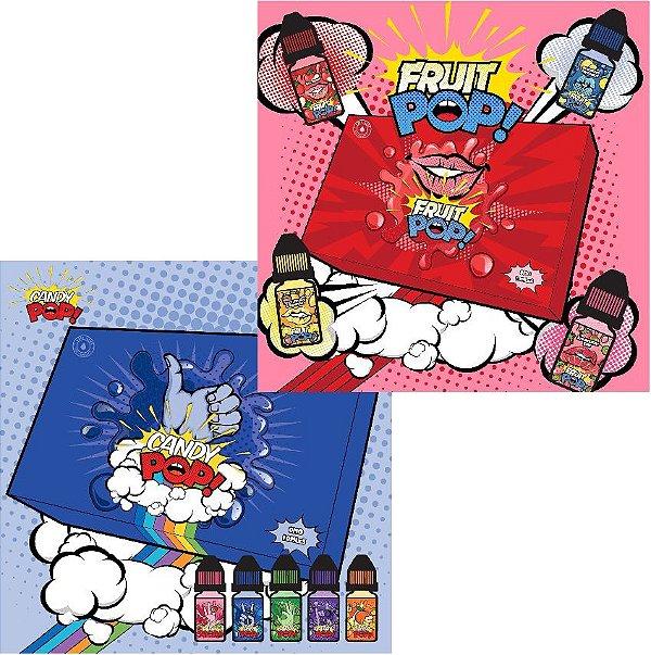Líquido Candy Pop / Fruit Pop - Kit Amostra
