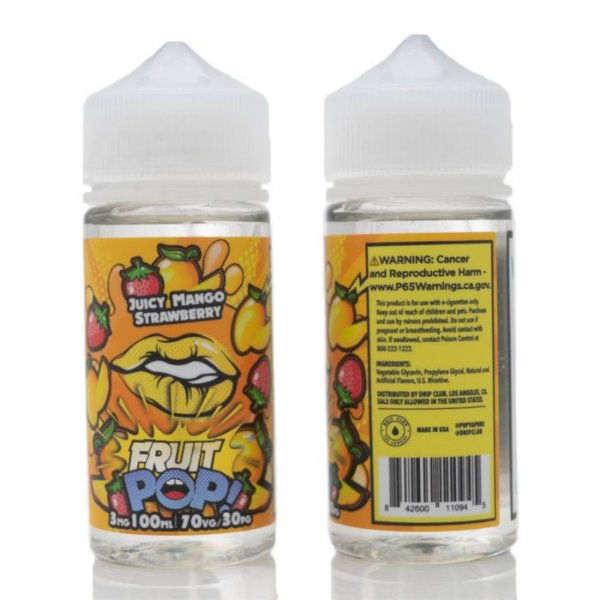 Líquido Fruit Pop! - Juicy Mango Strawberry