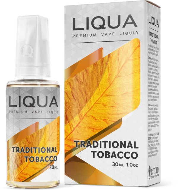 Líquido LIQUA Traditional Tobacco | Ritchy | Traditional Tobacco