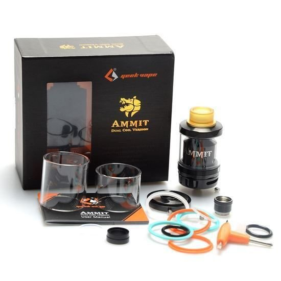 Atomizador Ammit Dual Coil  RTA - GeekVape