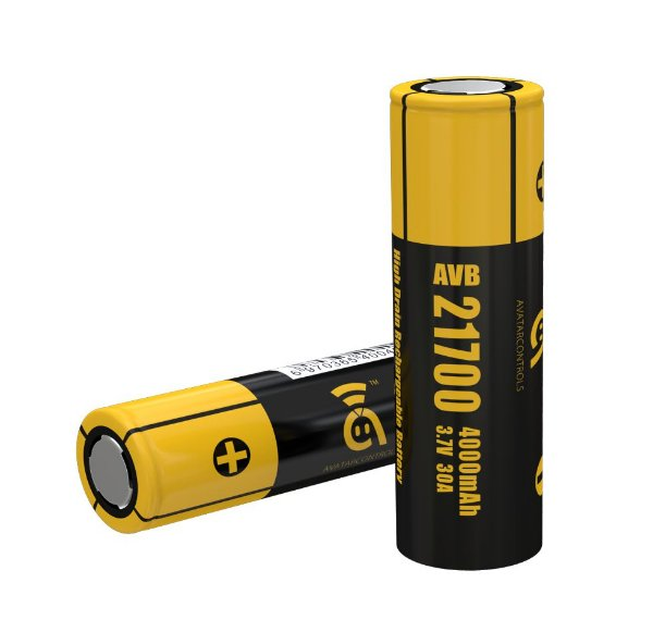 Bateria Avatar AVB 21700 Li-Ion 21700 3.7V 4000mAh High-drain 30A Flat Top - Joyetech