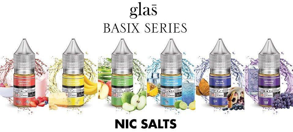 Líquidos - Basix Series / GLAS Salt - 30MG - 30ml