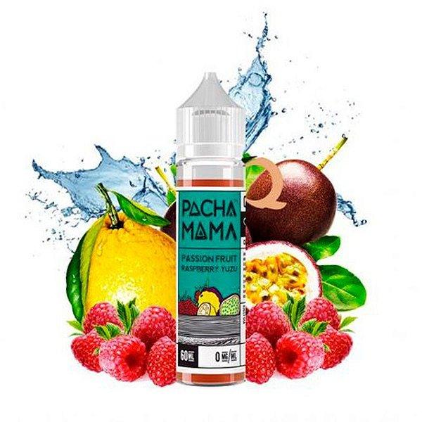 Líquido Pachamama - Passion Fruit Raspberry Yuzu