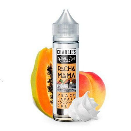 Líquido Peach Papaya Coconut Cream - Pachamama