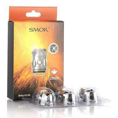Bobina p/ Reposição Baby V2 K1 / K4 - Atomizador V9 / MAG GRIP - Smok
