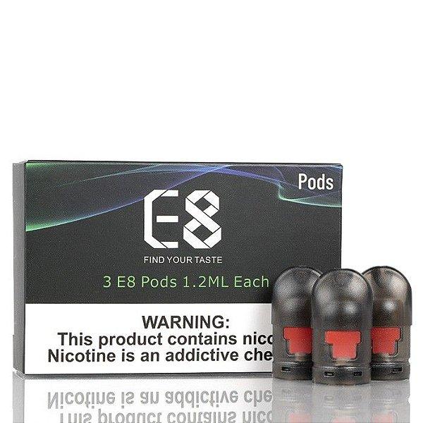 Pod (Cartucho) c/ Bobina p/ E8 MTL   Vapeants