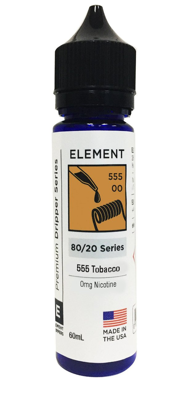 Liquido Element - Serie Dripper - 555 Tobacco