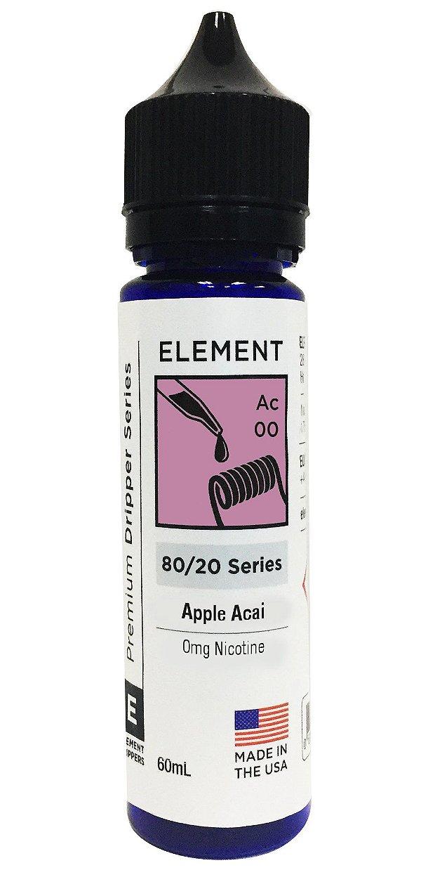 Liquido Element - Serie Dripper - Apple Açai