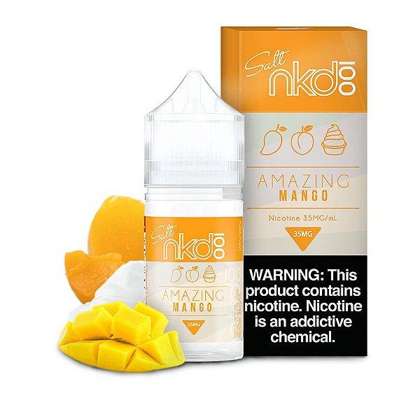Líquido Amazing MANGO - Naked NKD 100 - Salt Premium