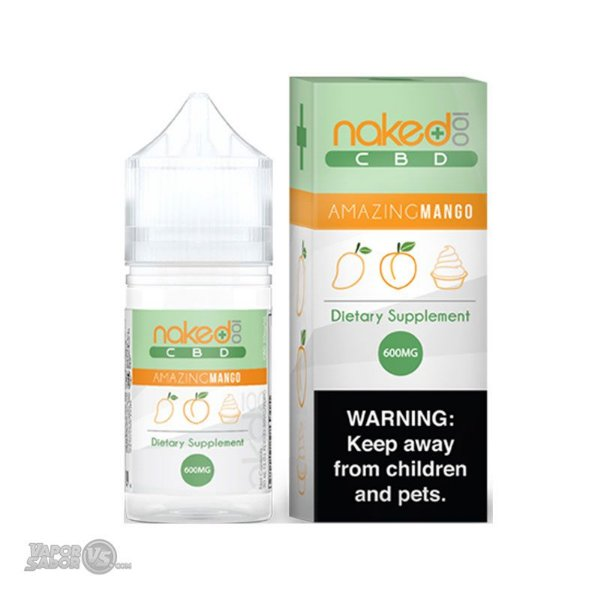 Líquido Amazing Mango (CBD) | Naked 100
