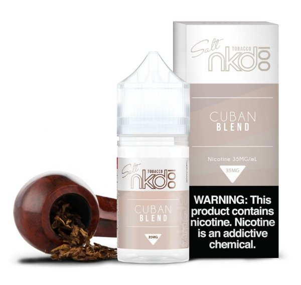 Líquido Cuban BLEND - Naked NKD 100 - Salt Premium