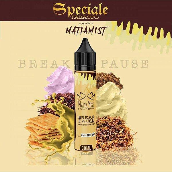 Líquido Break Pause (Speciale Tobacco) | Matiamist