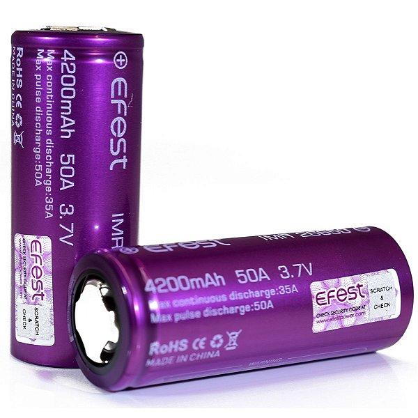 Bateria Efest 26650 4200mAh 50A
