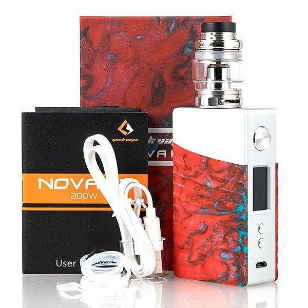 Kit Nova 200W c/ Atomizador Alpha | Geekvape