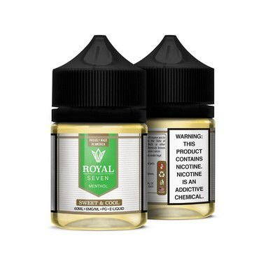 Líquido Sweet & Cool - Menthol - Royal Seven