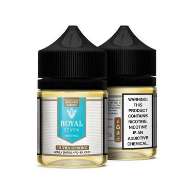 Líquido Ultra Strong - Menthol - Royal Seven