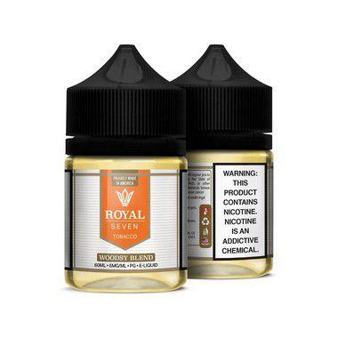 Líquido Woodsy Blend - Tobacco - Royal Seven