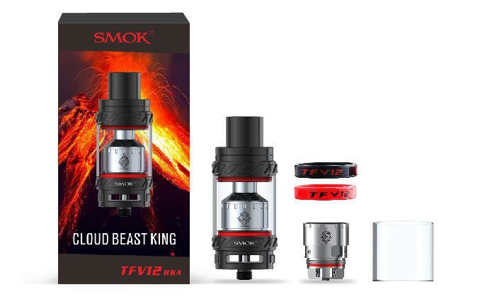 Atomizador TFV12 (RBA) - The Cloud Beast King 6.0 mL - Smok™