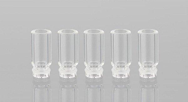 Drip Tip 510 de Vidro para Atomizador