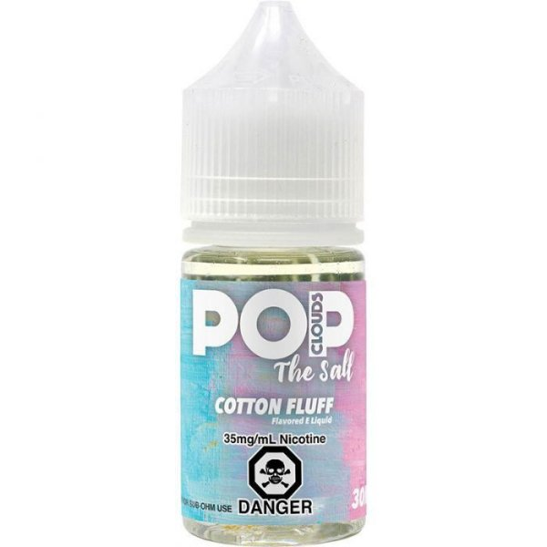 Líquido Cotton Fluff - The Salt - SaltNic / Salt Nicotine - Pop Clouds