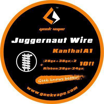 Fio Kanthal A1 - Juggernaut Wire - 3 Metros - GeekVape