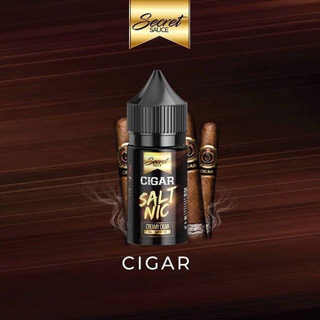 Líquido Cigar - Salt Nic - Secret Sauce
