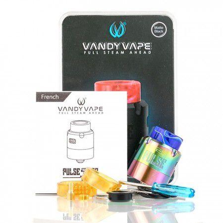 Atomizador Pulse V2 24mm RDA - Vandy Vape
