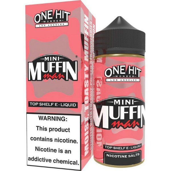 Liquido Mini Strawberry Muffin Man™ - TruNic 2.0 - One Hit Wonder e-Liquid