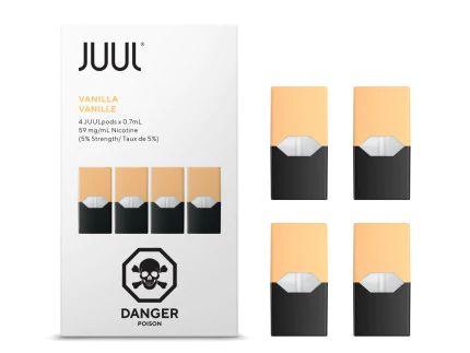 Pod (Cartucho) de Reposição (c/ Líquido) Vanilla p/ Yoop & Juul - Juul