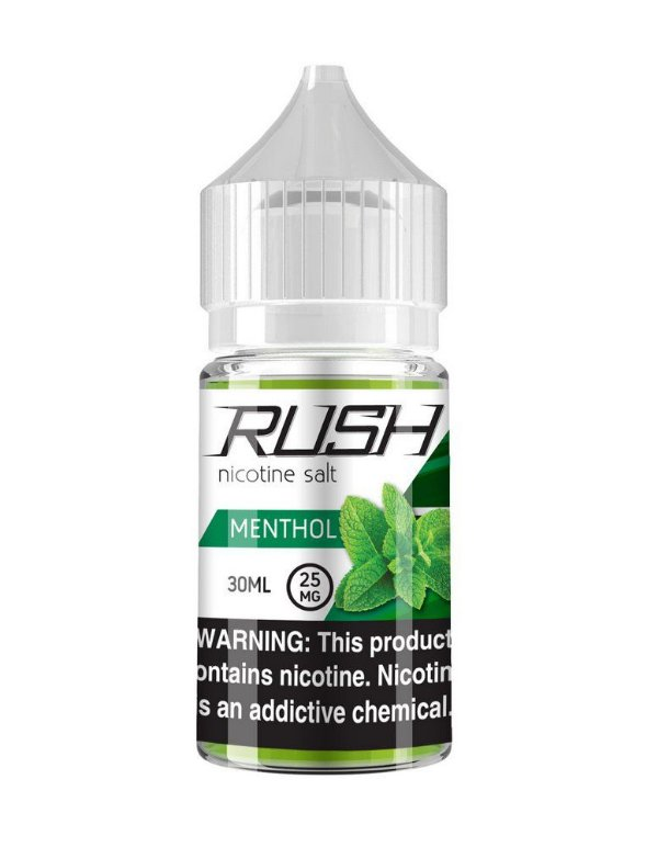 Líquido Menthol - SaltNic / Salt Nicotine | Rush