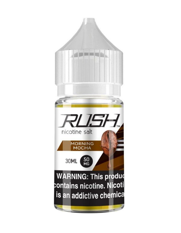 Líquido Morning Mocha SaltNic / Salt Nicotine - Rush
