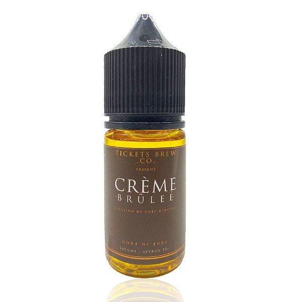 Líquido Creme Brulée - SaltNic / Salt Nicotine | Tickets Brew.Co