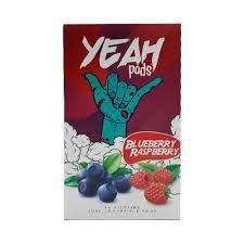 Pod (Cartucho) c/ Líquido Blueberry Raspberry p/ Yoop & Juul | Yeah