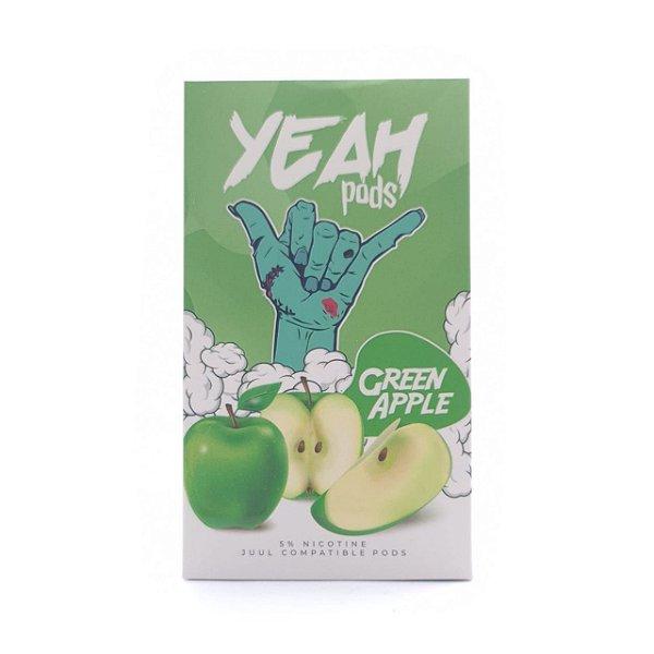 Pod (Cartucho) c/ Líquido Green Apple p/ Yoop & Juul | Yeah