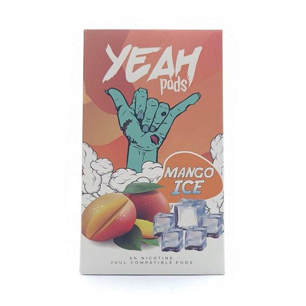 Pod (Cartucho) c/ Líquido Mango Ice p/ Yoop & Juul | Yeah