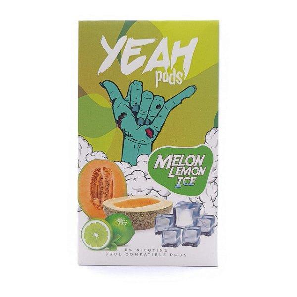 Pod (Cartucho) c/ Líquido Melon Lemon Ice p/ Yoop & Juul | Yeah