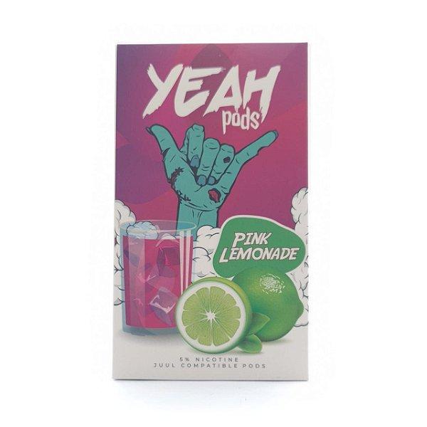 Pod (Cartucho) c/ Líquido Pink Lemonade p/ Yoop & Juul   Yeah